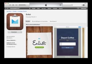Enlist, een handige app om meer abonnees te krijgen